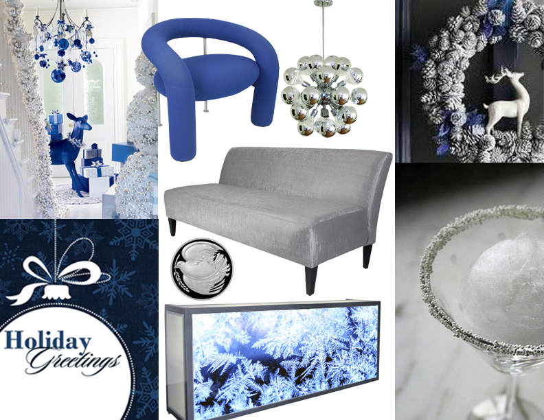 holiday_party_inspiration_board_blue_white_silver
