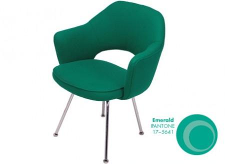 Saarinen Series 71 Armchair + Pantone Emerald