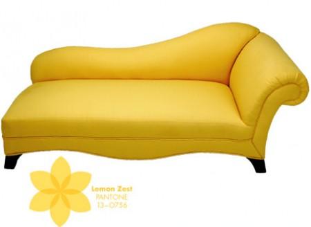 Rochelle Fainting Couch + Lemon Zest