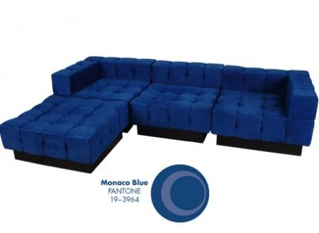 Tufto Modular Series + Pantone Monaco Blue
