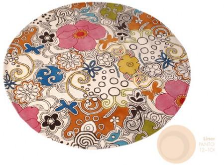 Woodstock Rug + Pantone Linen
