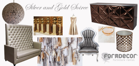 Silver and Gold Soiree