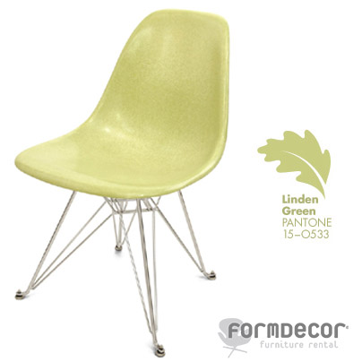 eames light green chair