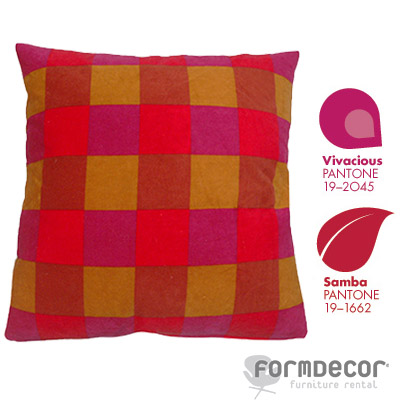 Mod Checkered Pillow