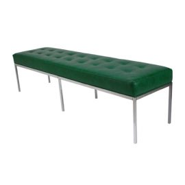 C10147-GR_florence_knoll_bench_green