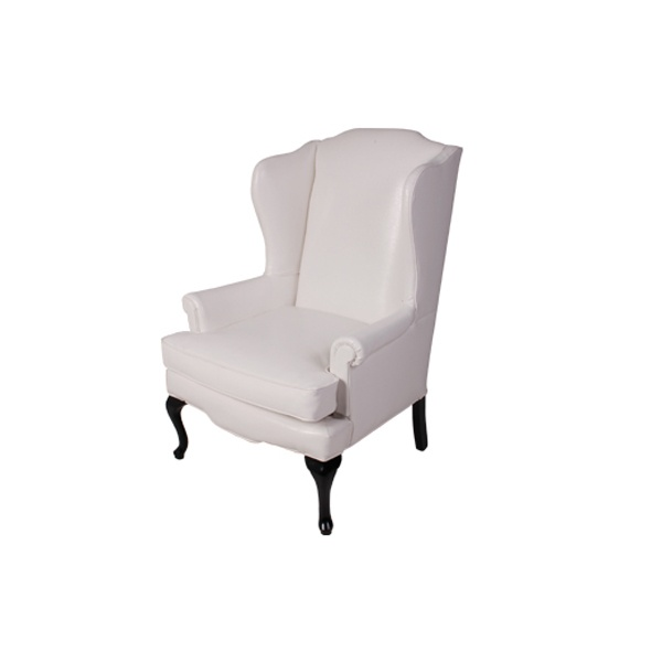 Awesome Wingback Chair (White)