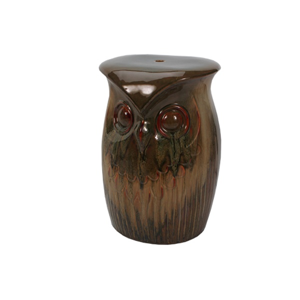 Charmant Owl Garden Stool