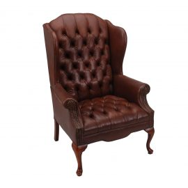 Jonathan Wingback Chair  sc 1 st  FormDecor & Leather Wingback Chair Rental | Event Furniture Rental | Delivery ...
