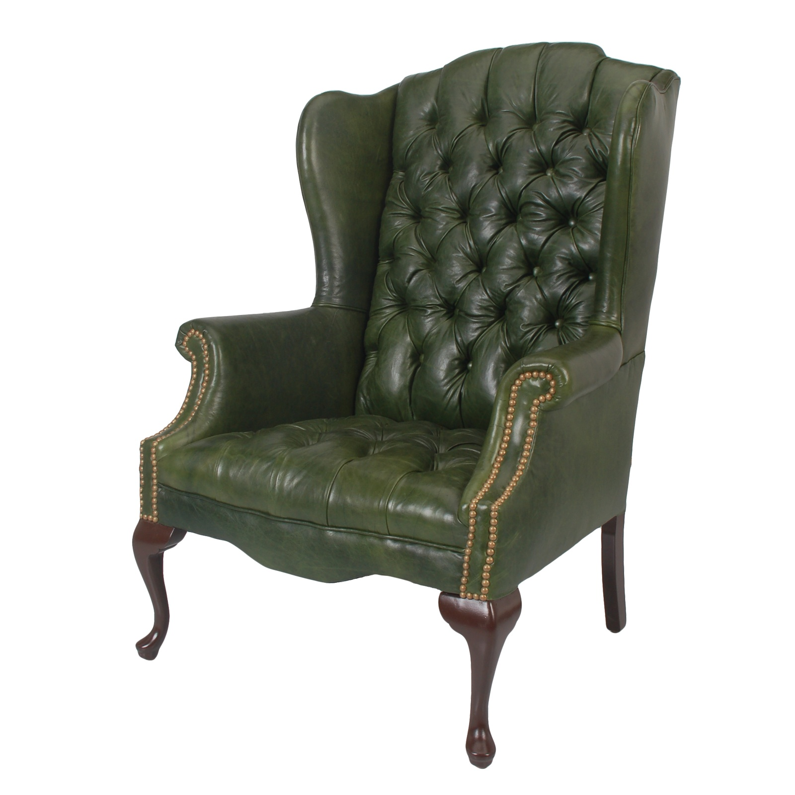 Leather Wingback Chair Rental Event Furniture Rental