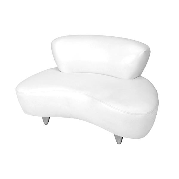 Cloud Loveseat White Formdecor