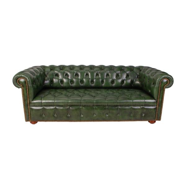 Chesterfield Sofa 82 (Dark Green) FormDecor