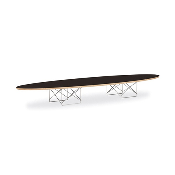 Eames Surfboard Coffee Table.Eames Elliptical Coffee Table For Rent Formdecor