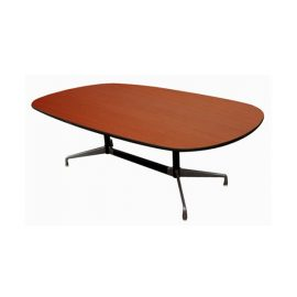 T30088-00_eames_aluminum_group_conference_table_mahogany_84_inch_41_inch_depth