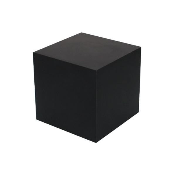 Cube Side Table Black Square Peg Side Table Black