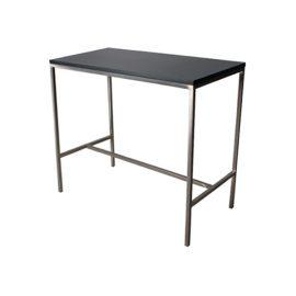T30244-BLK Bravo Bar Table rental (Black)