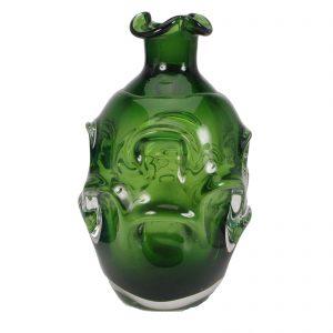 Murano Bud Vase #3 (Green)
