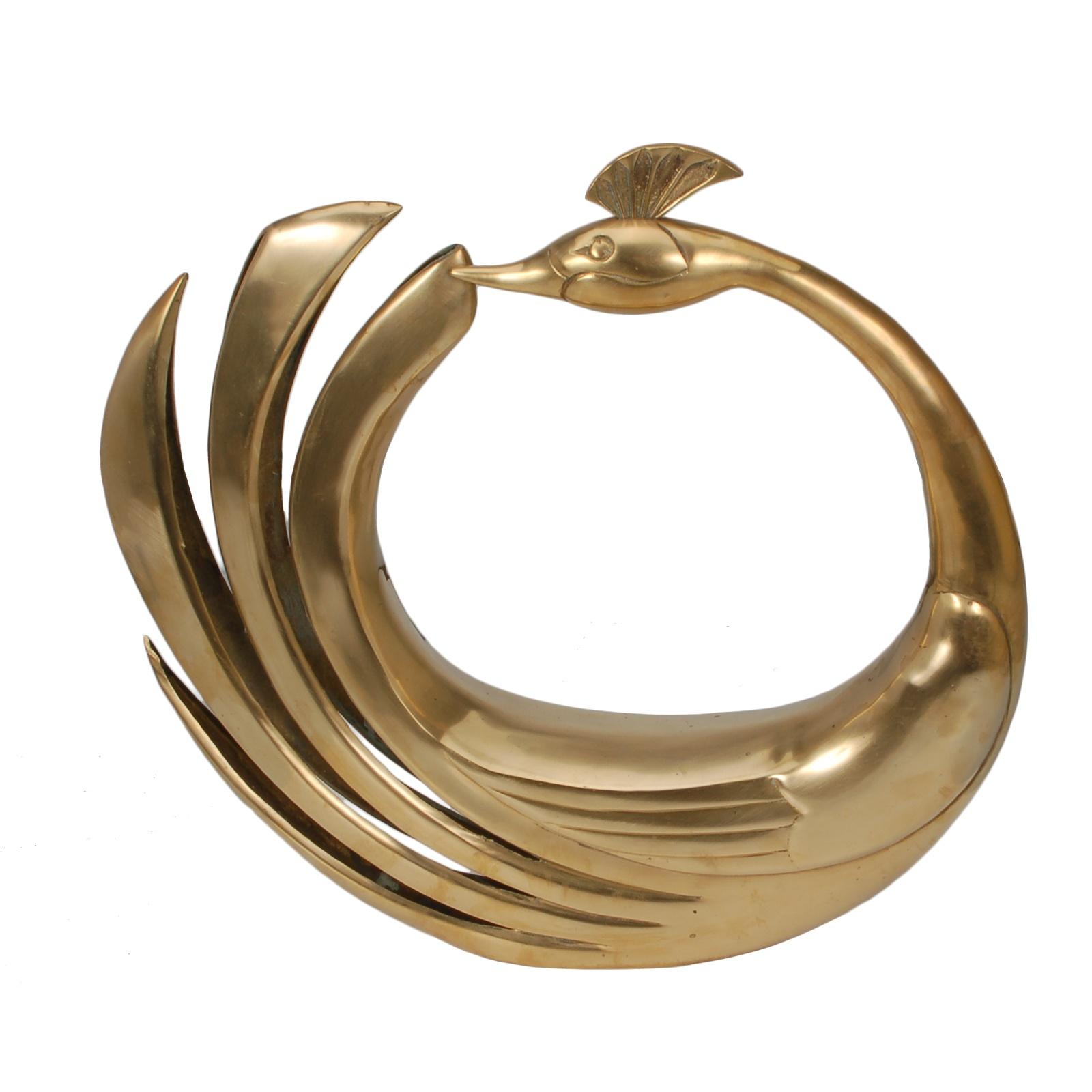 Peacock (Brass)