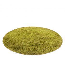 Shag Carpet Circle (Green)
