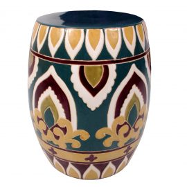 Chinese Garden Stool (Morrocco) 1
