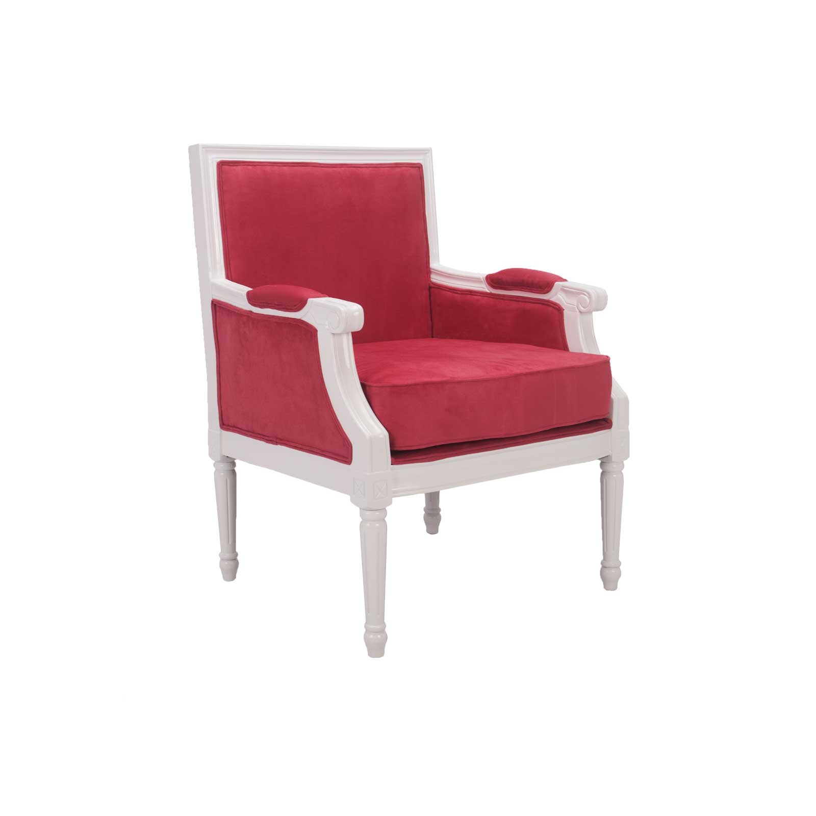 Louie VL Lounge Chair Pink FormDecor