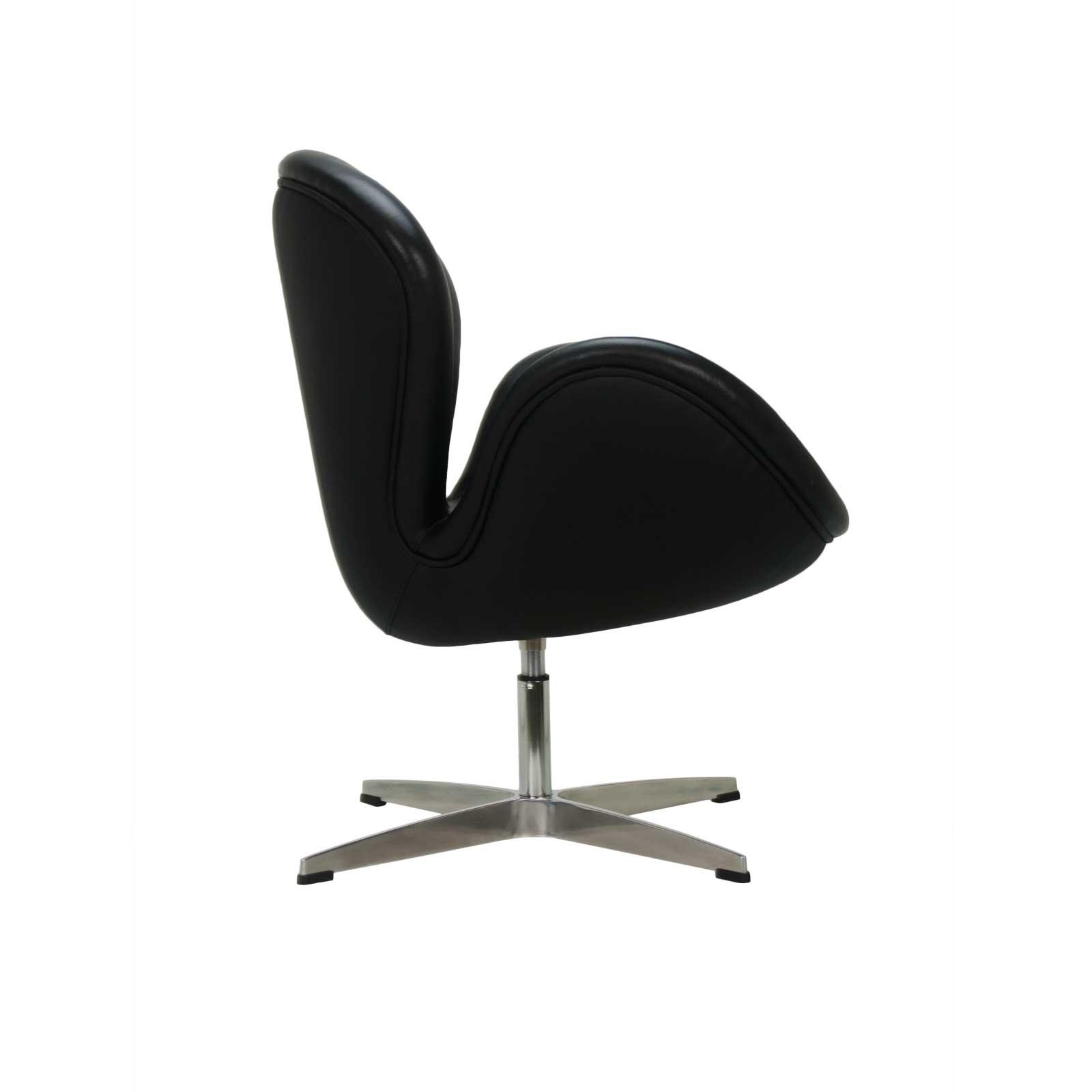 Awe Inspiring Arne Jacobsen Swan Chair Black Formdecor Evergreenethics Interior Chair Design Evergreenethicsorg