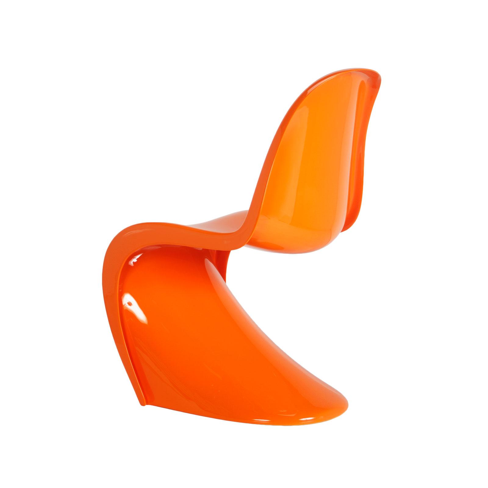 Panton Chair (Gloss Orange)