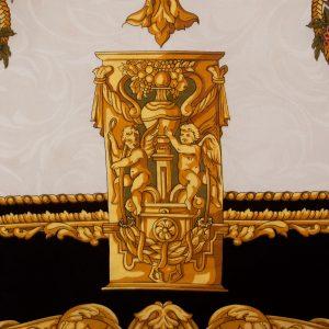 R40354-00-Silk-Scarf-Pillow-34-Black-Gold-detail