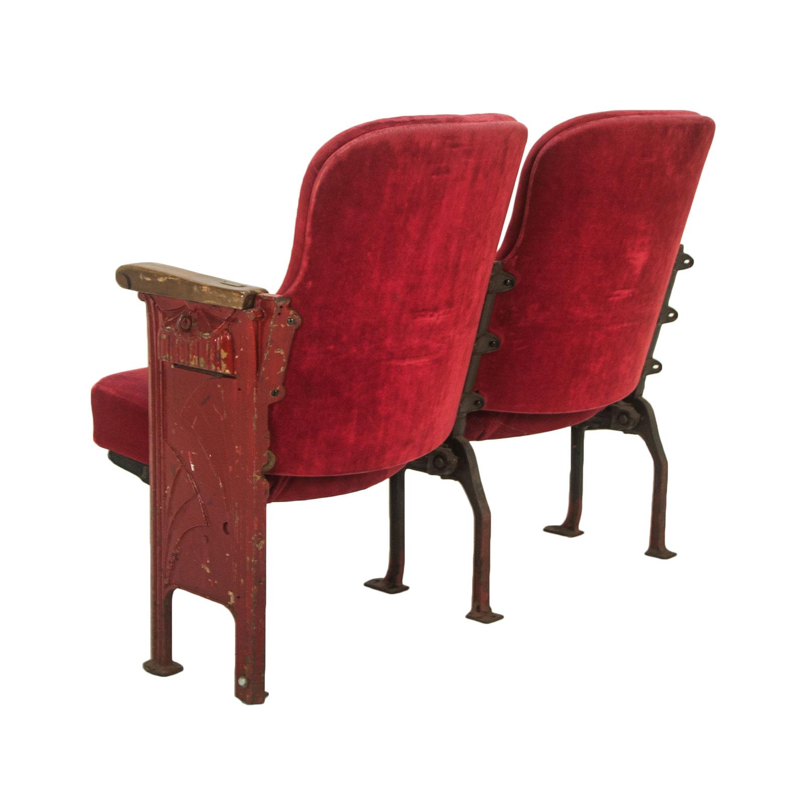 Theatre seat rental event furniture rentals delivery formdecor vintage theatre seats freerunsca Gallery