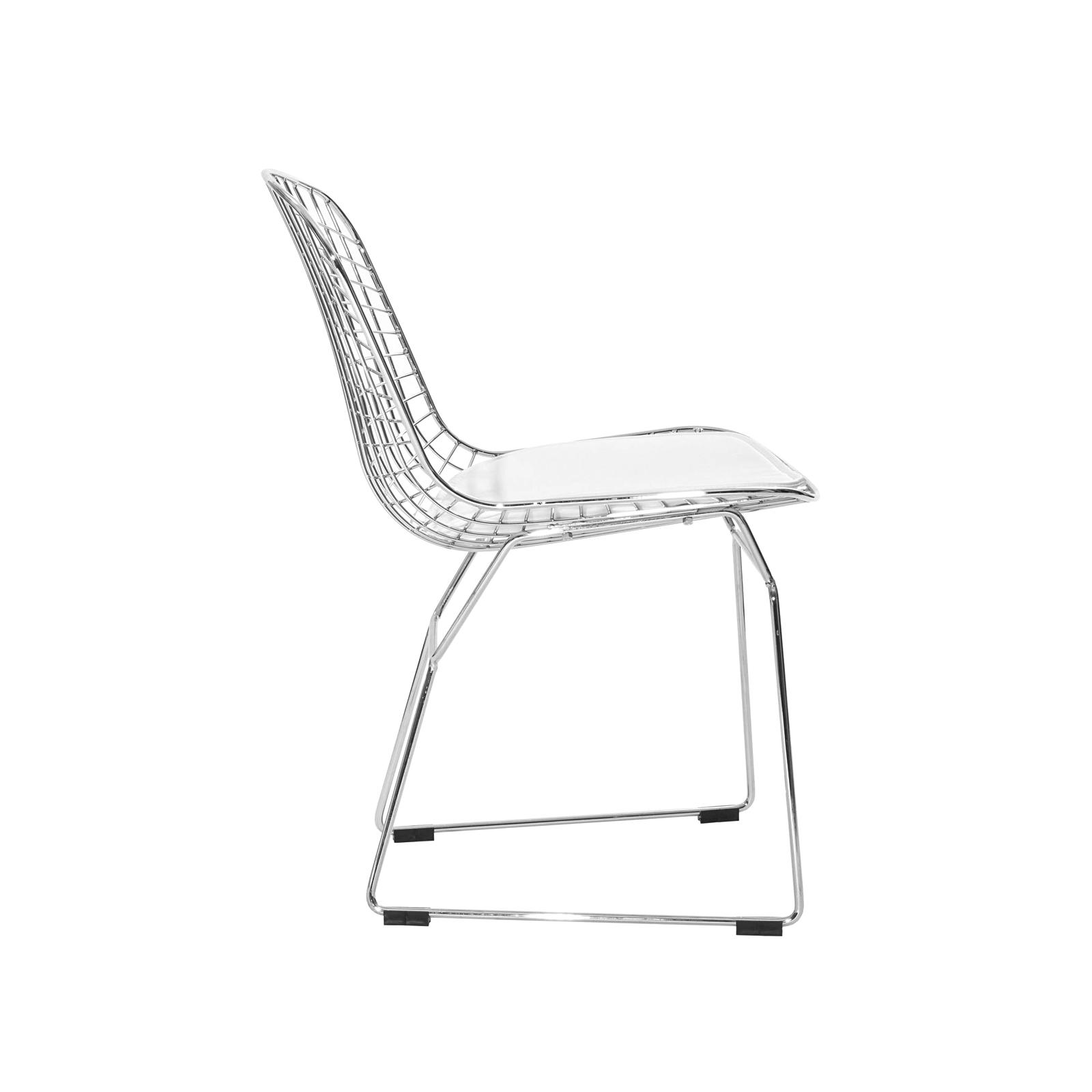 Bertoia side chair white -  C10459 00 Bertoia Side Chair Rental Profile
