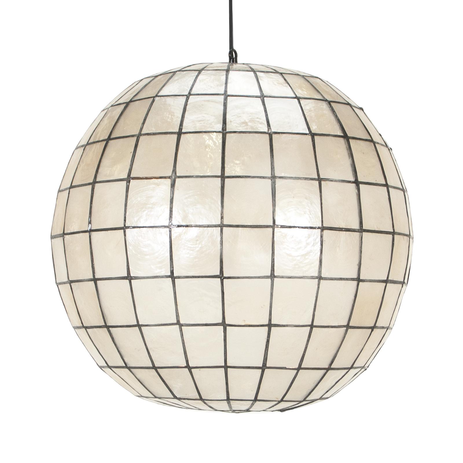 Pendant lighting rentals event lighting rental delivery formdecor shell globe pendant aloadofball Gallery