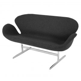 S20125-01-Arne-Jacobsen-Swan-Settee-rentals-couch-Dark-Grey-Wool-feature