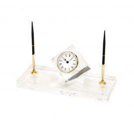 R40438-00-Pen-Set-rental-clock-Acrylic-Gold