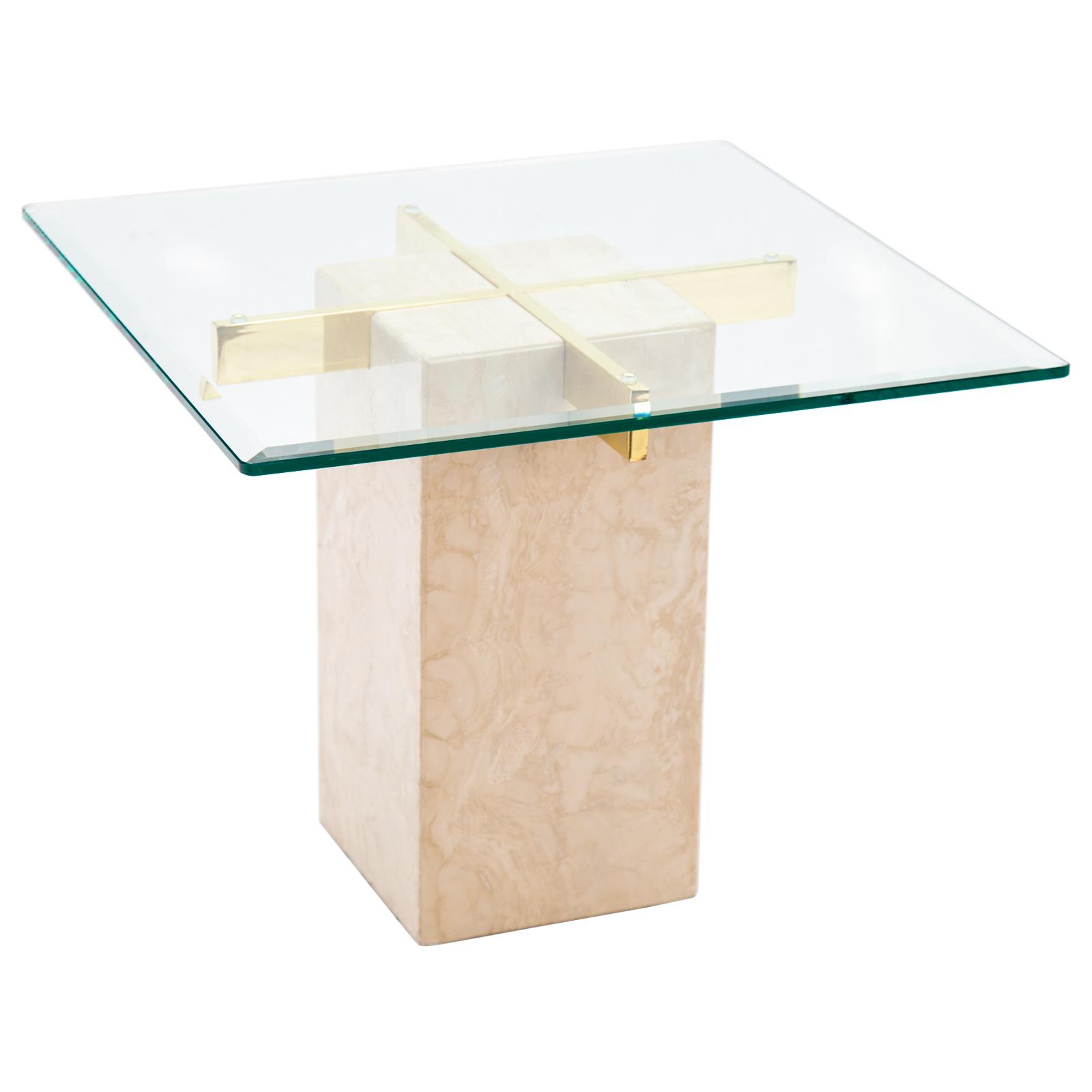 Terrazzo Side Table Rentals Event Furniture Rental