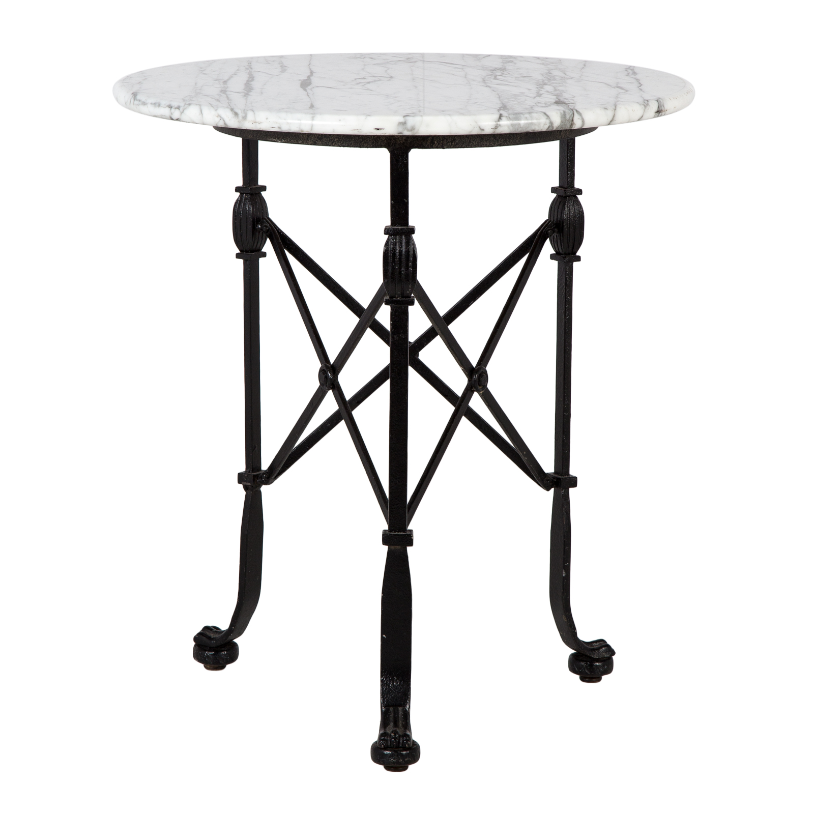 Marble Side Table Rental