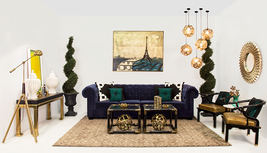 Brass-blue-sofa-furniture-rental-1
