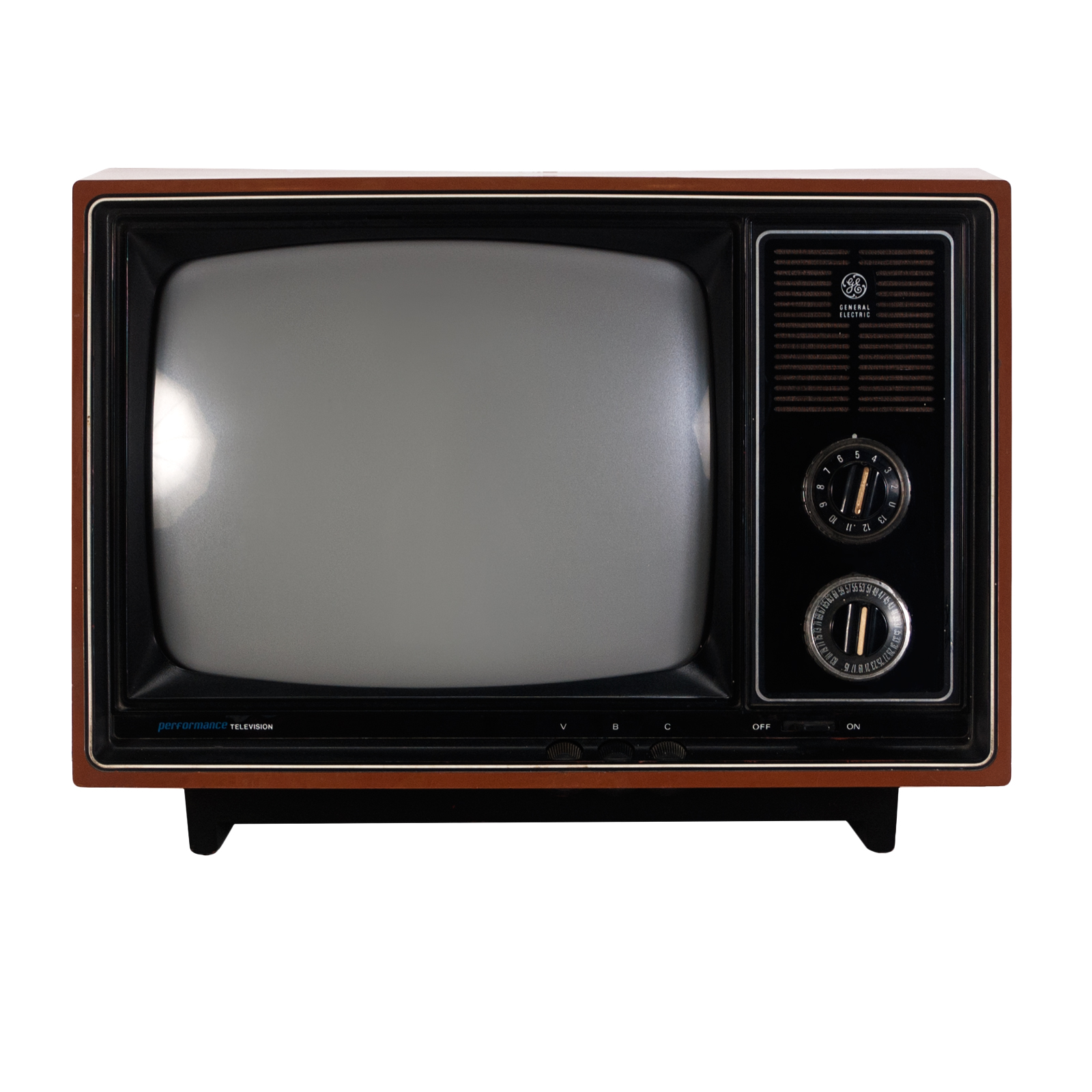 1970s GE Television Rental | Event Decor Rental | Delivery