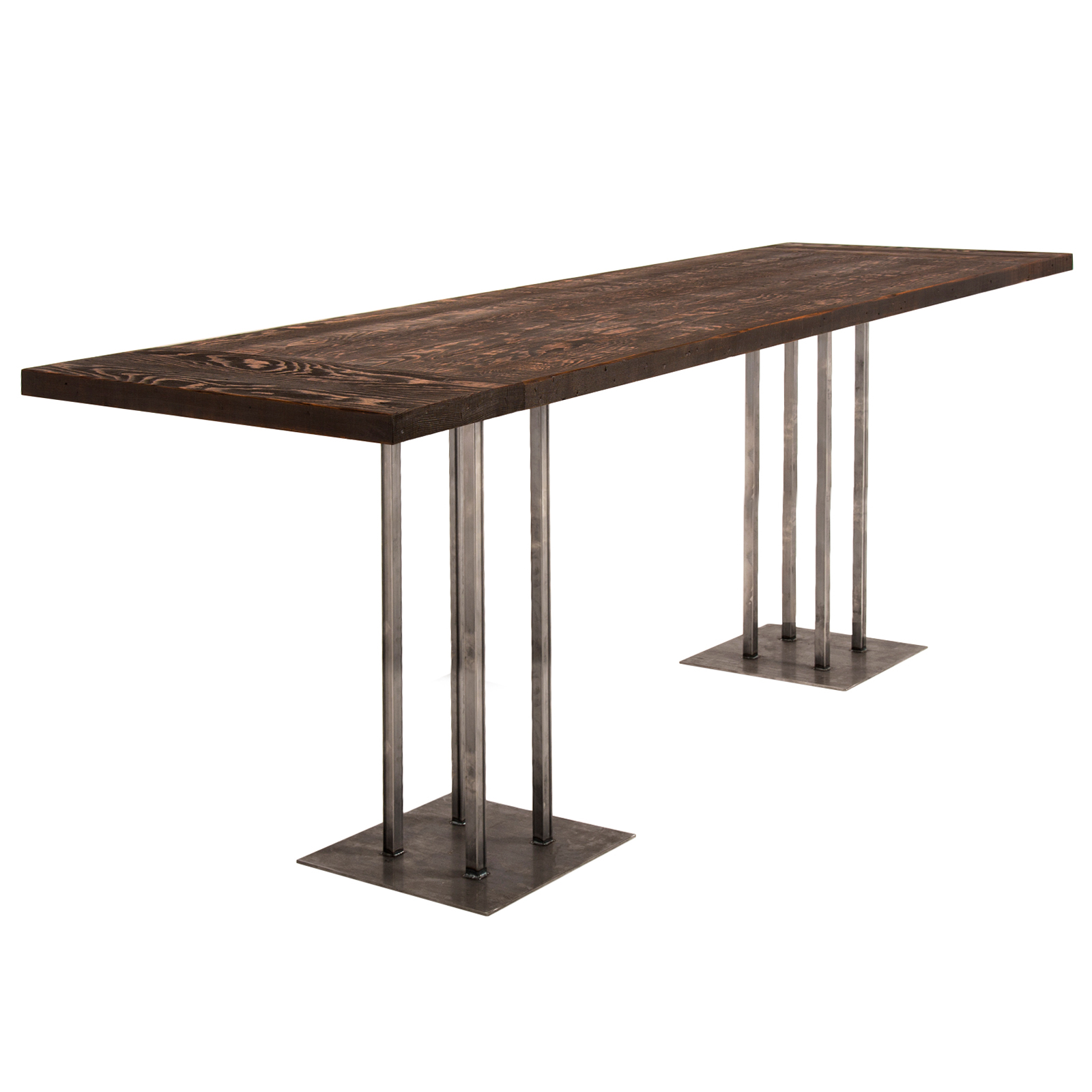 Rustic bar table rentals event furniture rental delivery