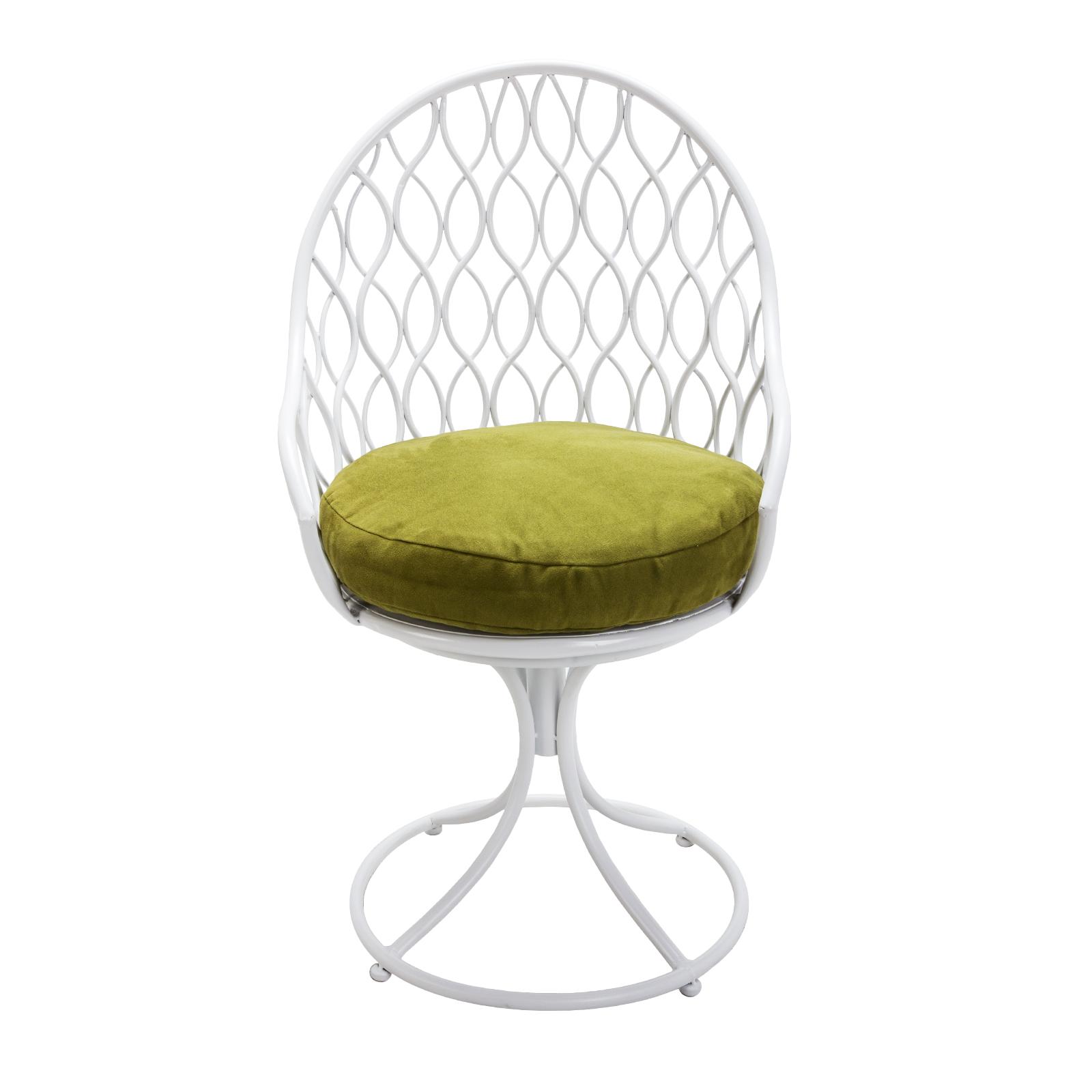 bloom swivel patio chair