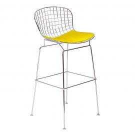 C10458-YLW-Bertoia-Barstool-rentals-yellow