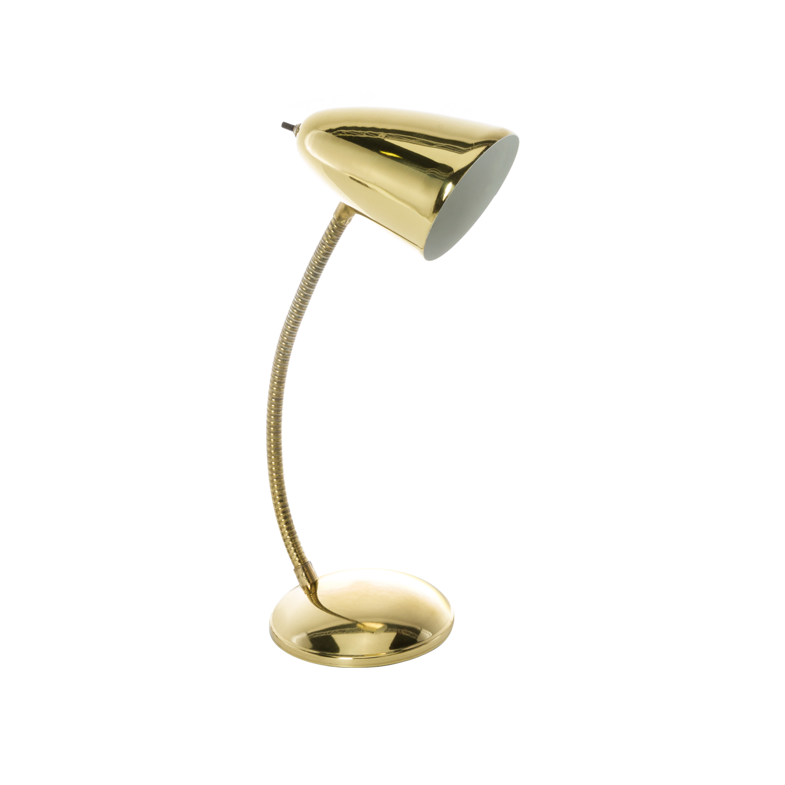 Cone Gooseneck Table Lamp ...
