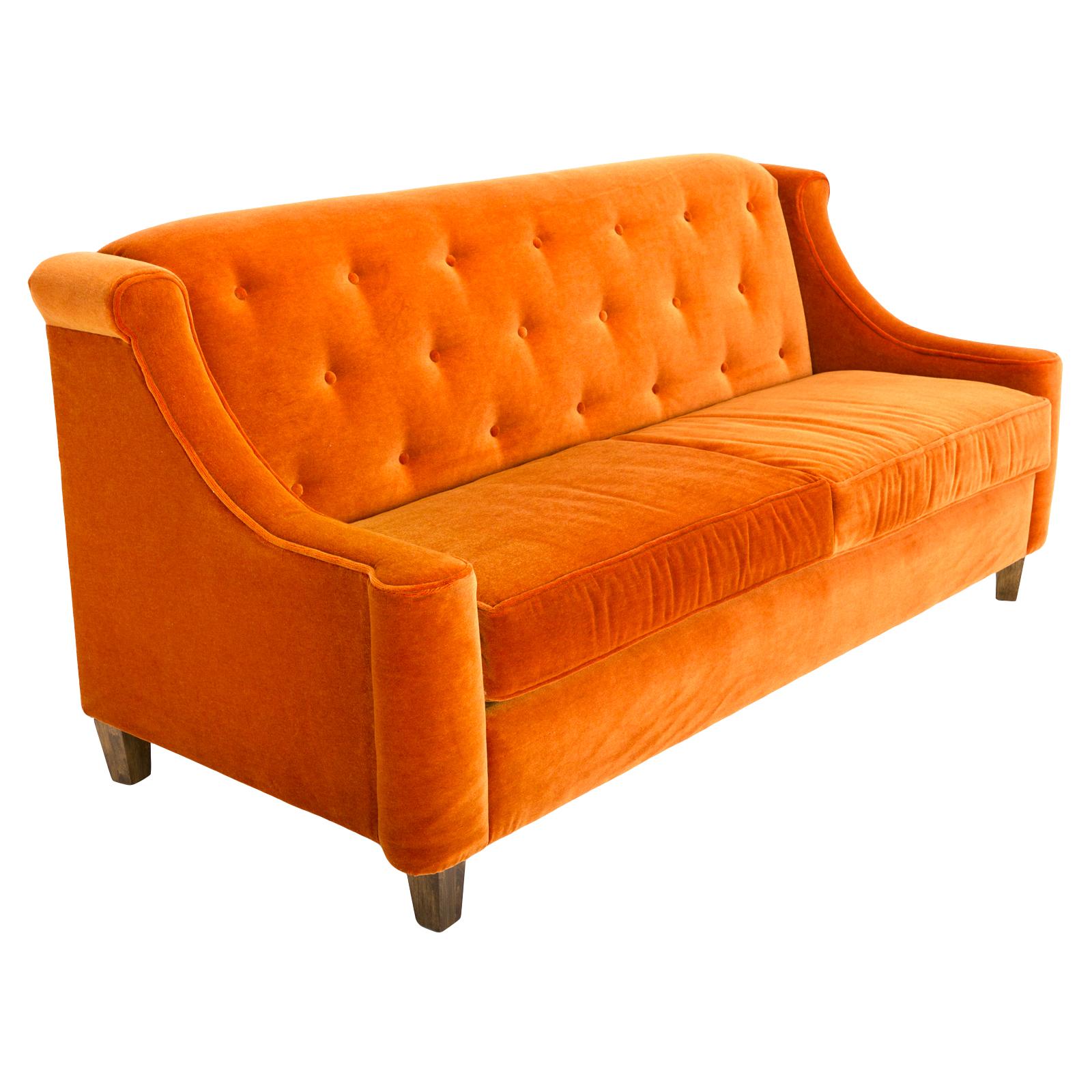 Orange Sofa Rentals | Event Furniture Rental | FormDecor