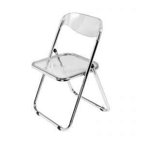 C10539-00 Lucite Folding Chair rental feature