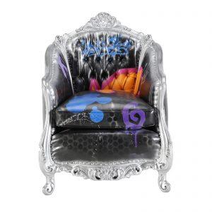 C10542-00 Graffiti Lounge Chair rental (Style) front