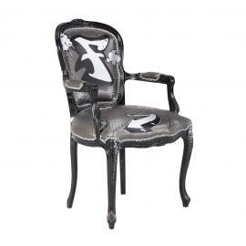 C10548-00 Graffiti Side Chair Rental F Front Angle