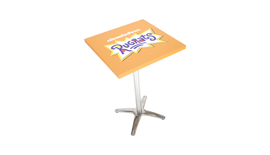 Custom Graphics for Your Event-FormDecor-Furniture-Rental-Nikelodeon-Table