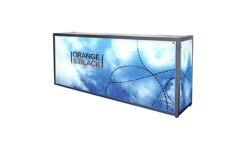 Custom Graphics for Your Event-FormDecor-Furniture-Rental-OITNB-Bar