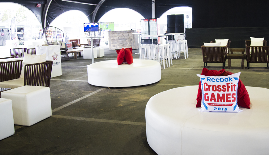 Custom Graphics for Your Event-FormDecor-Furniture-Rental-Reebok-Crossfit-Games-Pillows