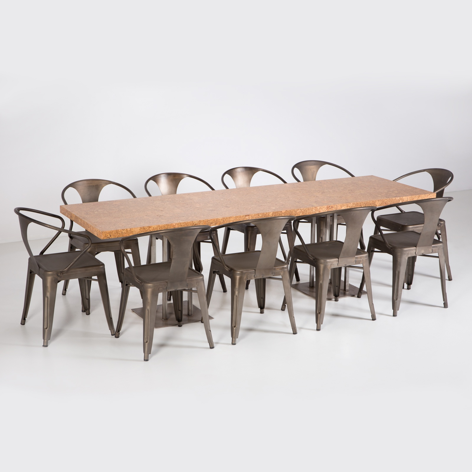 Cork Dining Table 96 Formdecor