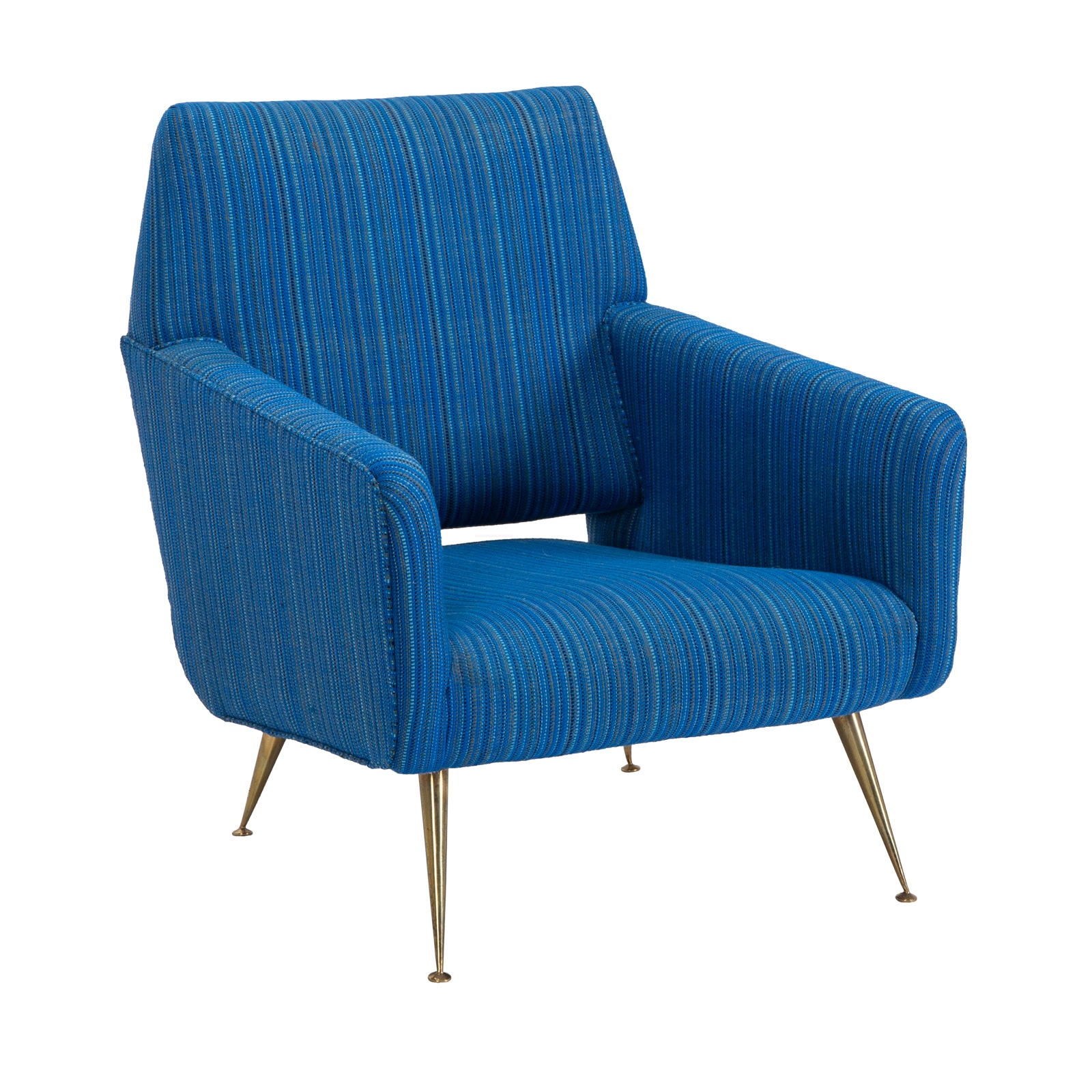 Fabulous Gio Ponti Style Lounge Chair His Event Trade Show Bralicious Painted Fabric Chair Ideas Braliciousco