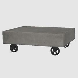Concrete Coffee Table 3d model